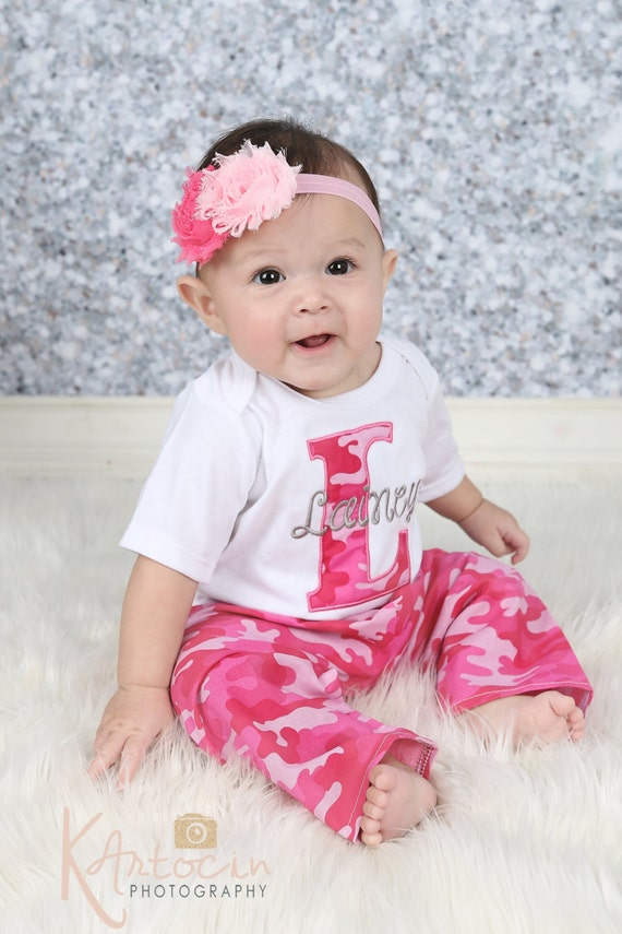 Baby Girl Personalized Baby Girl Clothes Newborn by sassylocks