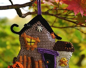 Crochet Haunted House - pattern DIY