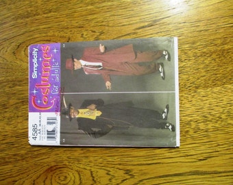 Men's ZOOT Suit / Gangster Costume / Swing Dance Jacket / Teddy Boy Outfit - Choose Your Size - UNCUT Sewing Pattern Simplicity 4585