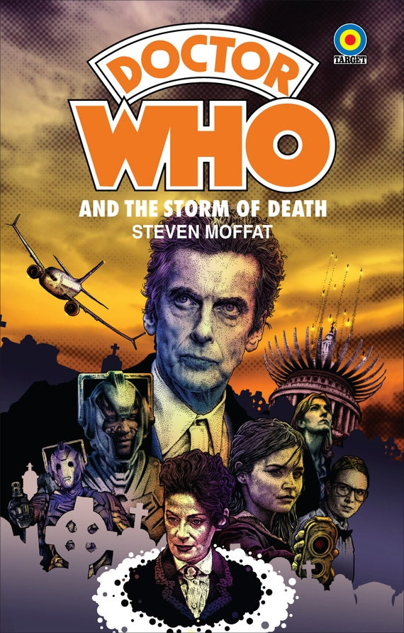 Book Covering Contact Target : Doctor who dark water death in heaven