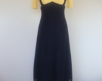 Navy Maxi Dress For Tall Slender Lady S UK 10 US 8