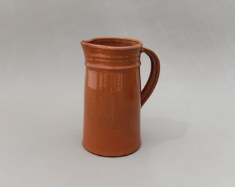 Ceramic Pitcher - Natural Terracotta Pottery