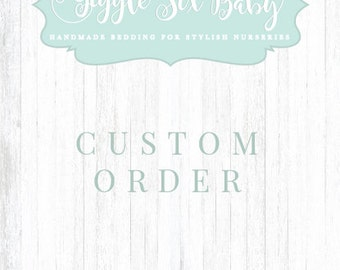 RESERVED for Terri, Woodlands Crib Bedding - Woodlands Mint and Navy Baby Bedding, Baby Boy Deer Crib Bedding Set
