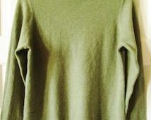 Charter Club Cashmere Mock Turtleneck Sweater M