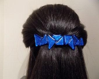 Large Barrette Blue/ Modern Hair