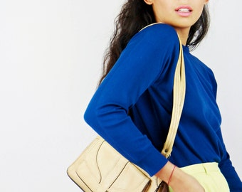 Vintage 70s beige Handbag
