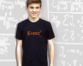 E=MC2 T-Shirt - Black