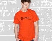 E=MC2 T-Shirt - Orange