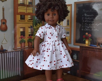 1950s Shirtwaist Dress for Maryellen or 18 inch doll