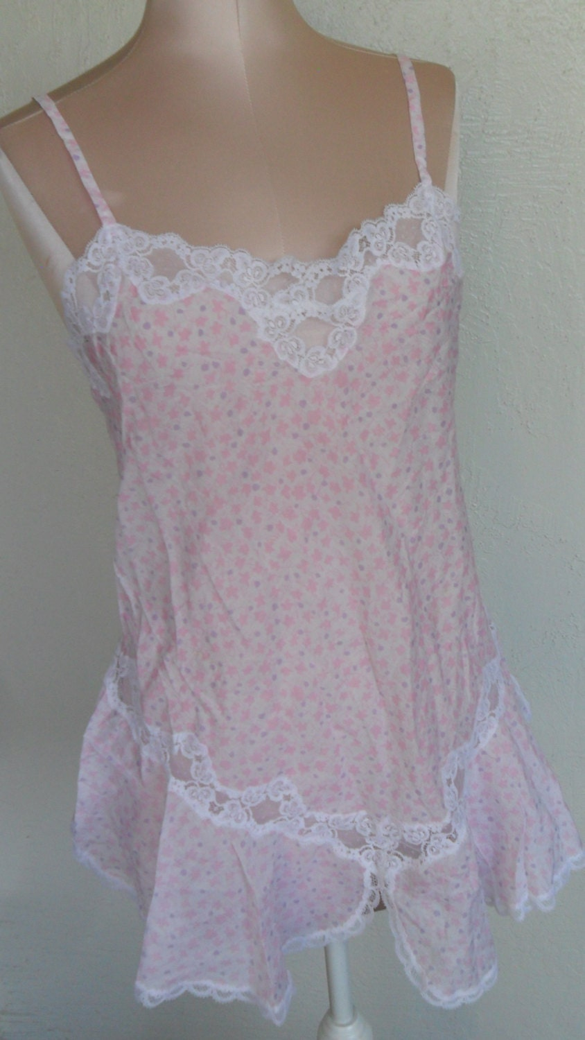Vintage Nightgown Baby Doll By Eve S Collections Size