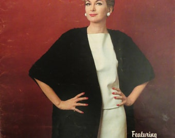 Vintage 60s Spinnerin Knitting Pattern Book, 12 Styles, Coats  Dresses Sweaters, Spinnerin Special Report 2, Retro 60s Mad men