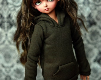 MSD Olive Hoodie For BJD