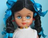 Vintage Mexican Doll - Muñeca - Mexicana