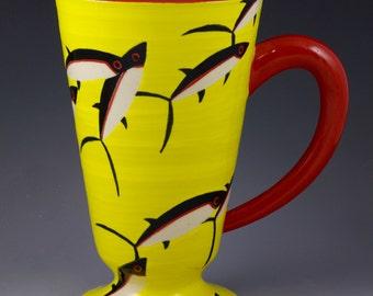 Ceramic Mug Handmade Pottery – Tuna