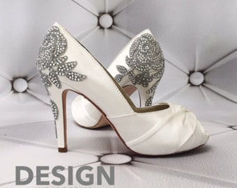 CUSTOM CONSULTATION: Design Your Own Wedding Shoes Tartan