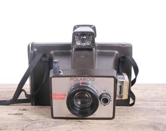 Polaroid Camera / Vintage Polaroid Minute Maker / Old Polaroid Camera / Polaroid Land Camera  / Vintage Polaroid / Camera Polaroid Retro