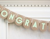 Personalized Garland Custom Banner Birthday Garland Kraft Paper Party Supplies Baby Shower Photo Prop Congratulations Banner Wedding Garland