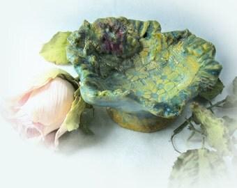 Stoneware Bowl, Decorative Ceramic Bowl,  Small Bowl,   trinket dish, jewelry dish,  # 45