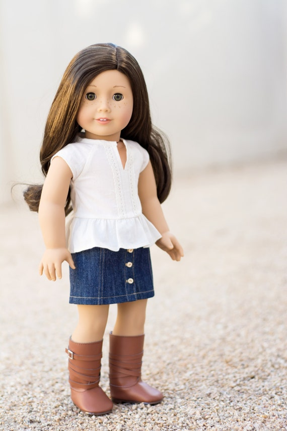 Kings Canyon Top for an American Girl Doll or Other 18 Inch Dolls