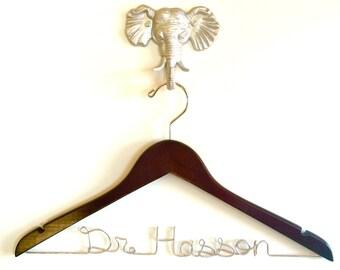 Physician Gift, Personalized Medical Gift, Dr Name Hanger, Med Student Gift, Lab Coat Hanger, White Coat Ceremony Gift, Dr Gift, Doctor Gift