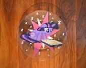 Twilight Sparkle glass plate