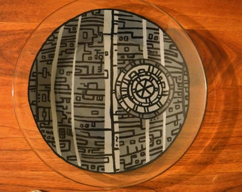 Death Star Glass Plate