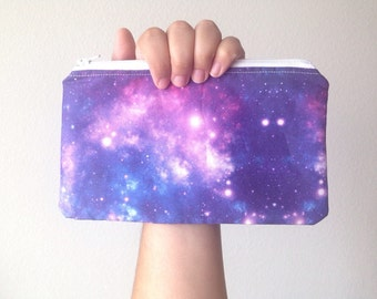 Galaxy Inspired Zipper Bag