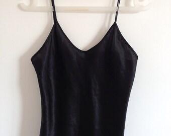 Vintage black camisole vest size S