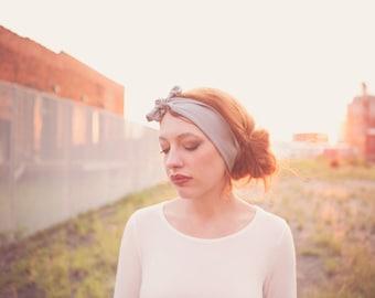 Gray Headwrap