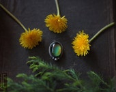mercurial ii // sterling silver statement mood ring