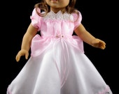 Princess Dress - 18 Inch Pink Princess Dress - Fits American Girl Dolls - Doll Clothing - 18 Inch Doll Clothes