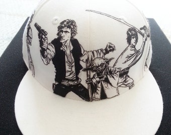 Custom Star Wars Fitted Hat