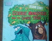 Four Vintage Sesame Street Read Along Record Books - SALE