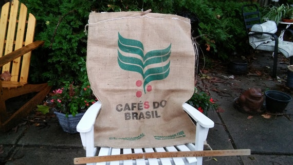 Large Burlap Bags, 38x28inches, Coffee Bean Bags, Very Nice, All Are Printed On One Side, Some are Printed Both Sides, So Many Uses, Crafts