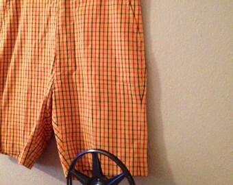 1960s Men's Shorts 32 inch waist
