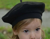 French Beret for Baby, Toddler and Children in Felt Kids Hats Kids Costume