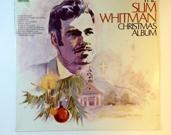 Slim Whitman Christmas Album Vocal Accompaniment The Jordanaires Original Release 1969 Imperial Records Stereo LP12448 Traditional Christmas