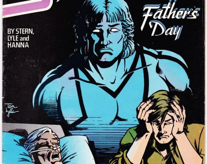 Vintage Starman Number 16 November 1989 DC Comics - Super Hero - Roger Stern - Tom Lyle - Bob Smith - Dr. Melrose - Bolt - Power Elite