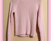 Girls Pretty in Pink Turtleneck Sweater Size Small by Nine & Co.