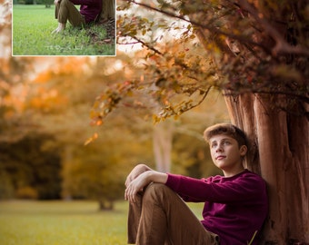 Lightroom Fall Autumn Harvest Warmth Brushes and Presets for Photographers LIGHTROOM 5, 6, CC