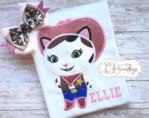 Sheriff Callie shirt, Callie birthday, cowgirl shirt, callie Halloween, Callie birthdayc sheriff Callie birthday shirt, Callie bow