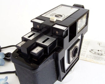 The Original FOTRON Auto Rewind Cartridge Camera, RARE Collectors Edition, Made in USA Early 60s Original Docs inc. Bill of Sale. WoW