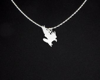 Eagle Necklace - Eagle Jewelry - Eagle Gift