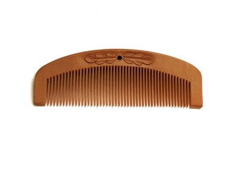 Natural Wood hair comb Wooden hair comb Wooden comb Natural Personalize Wood carving Head scalp massage Gift for girl Handmade by MariyaArts