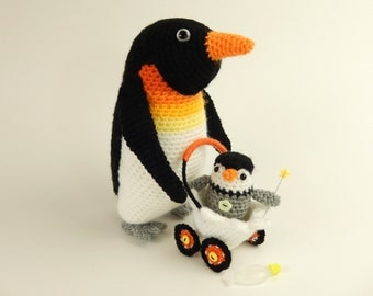Papa Penguin and Pierre Baby Pierre