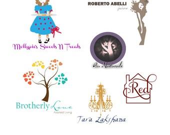 Custom Logo Design - Business Branding - Web Logo - Logo Design - Cupcake Logo - Logo Design - Photography Logo - Party Logo - Boutique Logo