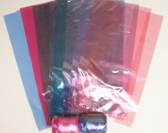 Gift Bag Kit, Party Favor Bags with Ribbon, Treat Bags