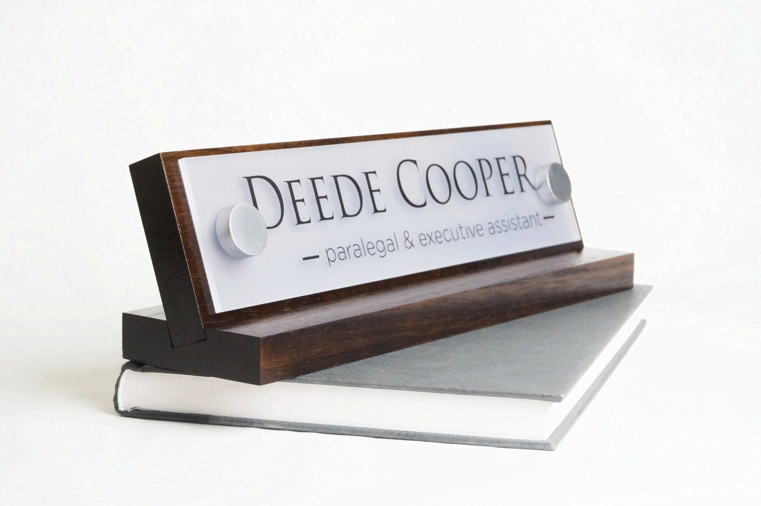 desk name plate or desk nameplate makes a great by garosigns