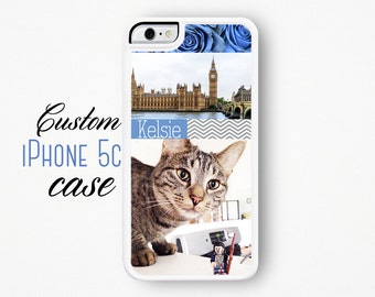 Custom iPhone Case / Custom iPhone 5C Case / Custom iPhone 5C Case / Make Your Own Personalized iPhone 5C Case Silicone Case iPhone Cover