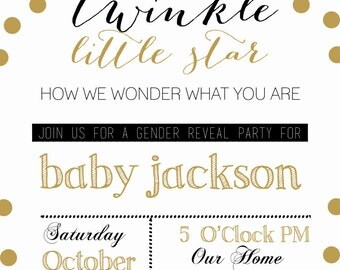 Twinkle Twinkle Little Star How We Wonder What You Are Gender